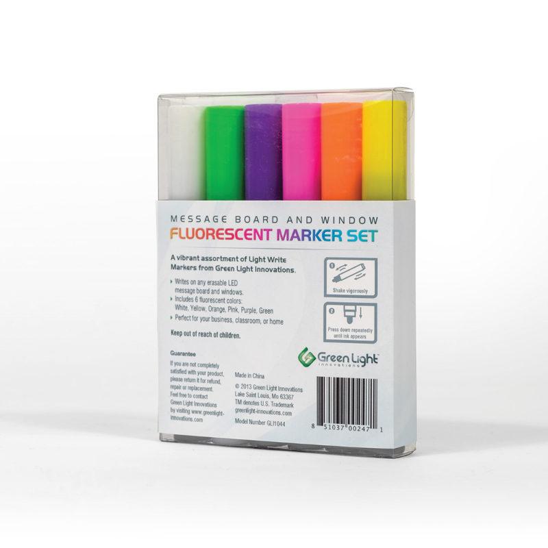 Standard Tip (4mm) Liquid Chalk Window & Message Board Marker Set 8pk